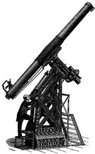 Lunette équatoriale de l'Observatoire de Paris